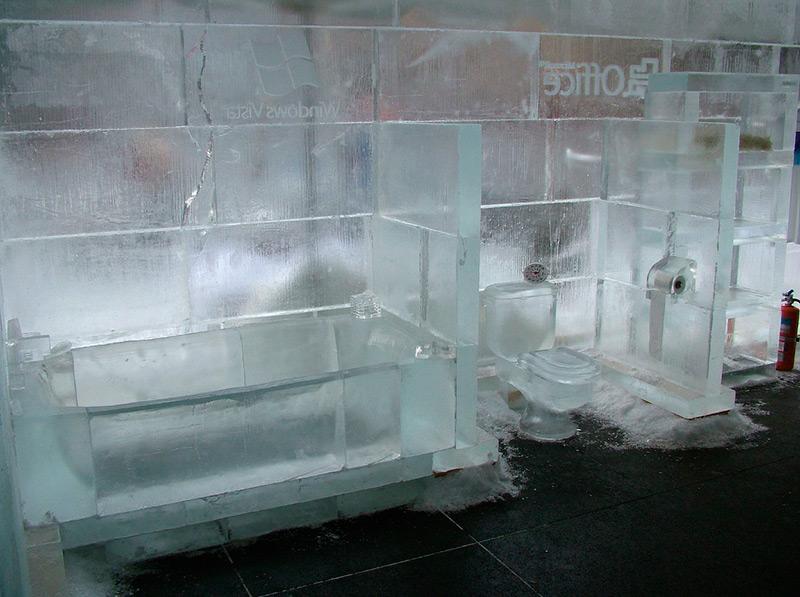 Ванна изо льда