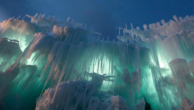 Чудесные творения изо льда