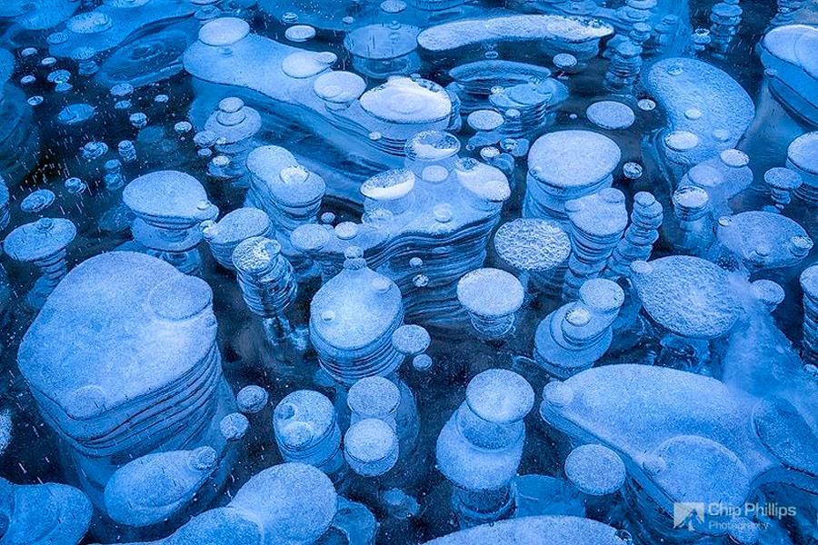 Замерзшие пузыри