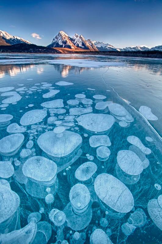 Пузыри подо льдом