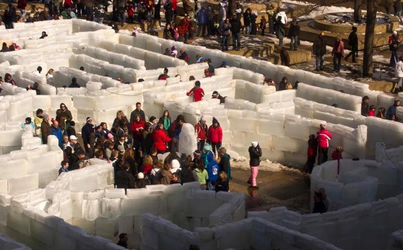 Лабиринт посетило более 60 тысяч человек