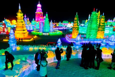 Харбин ледяной город