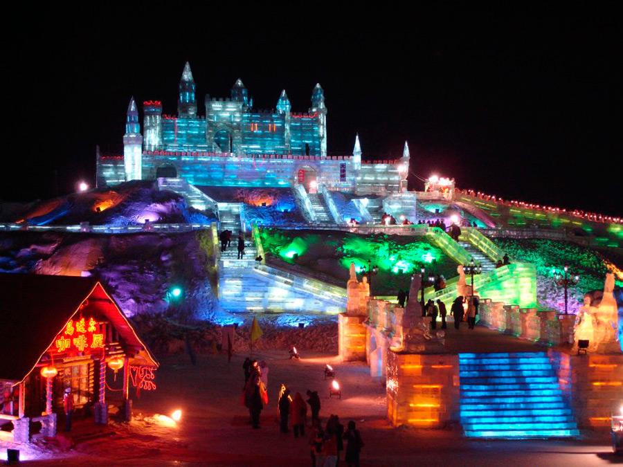 Ледяной фестиваль в Харбине
