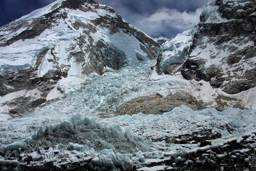 Ледник на южном склоне Эвереста