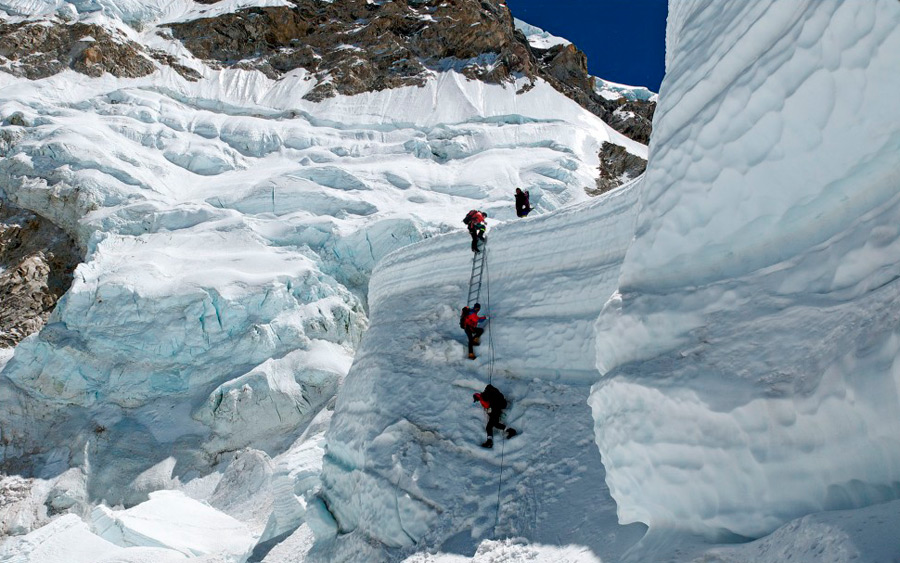 Для альпинистов Кхумбу самый опасный путь на вершину