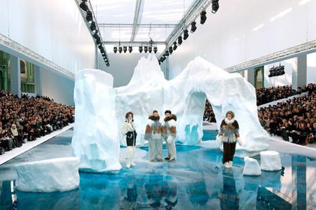 Ледяной показ мод