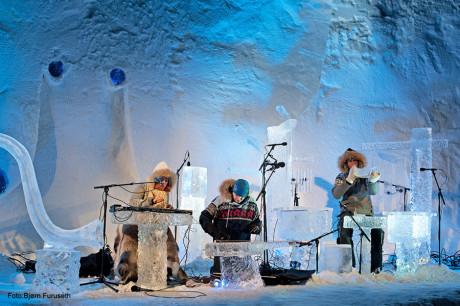 Ледяная музыка Терье Исунгсета