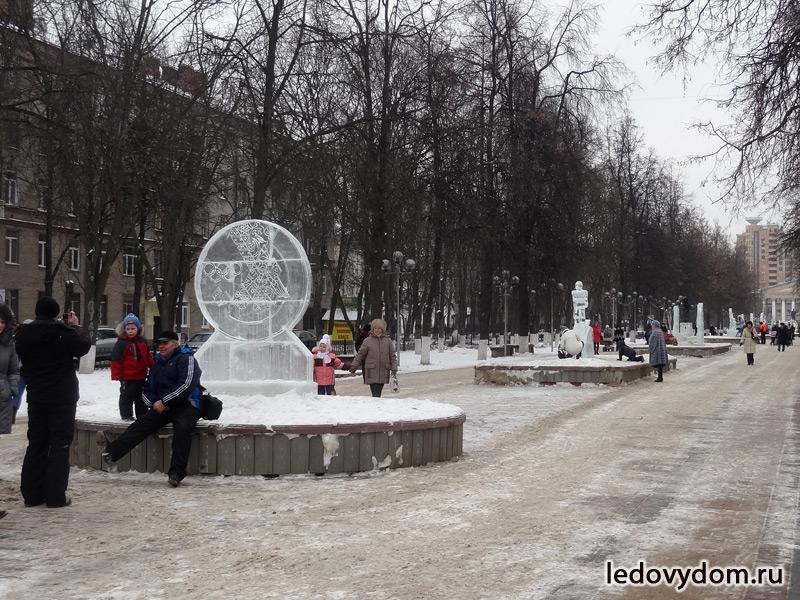 Олимпийская аллея в Жуковском