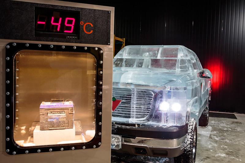 Аккумулятор в охлаждающей камере