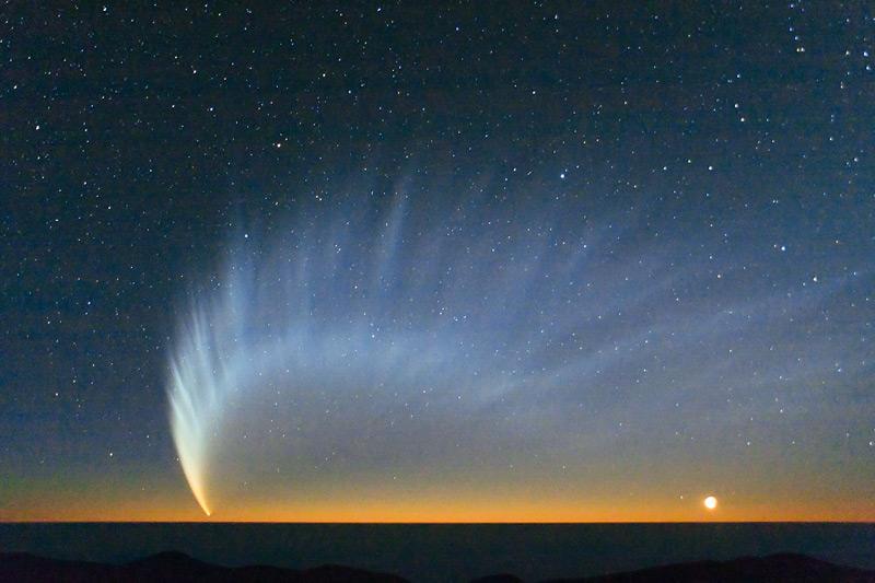 Илл.7 - Комета Макнота
