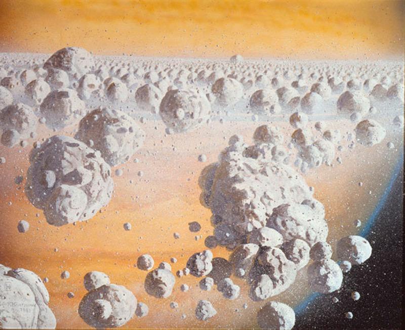 Космический лед
