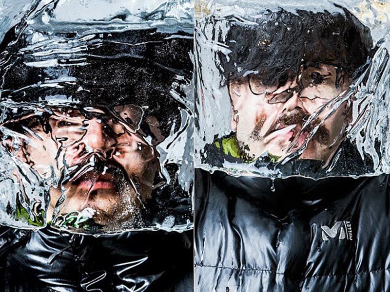 Ледяные маски от Баку Маеда