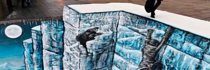 Ледяная стена из сериала Игра престолов