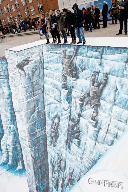 Ледяная стена из сериала Game of Thrones