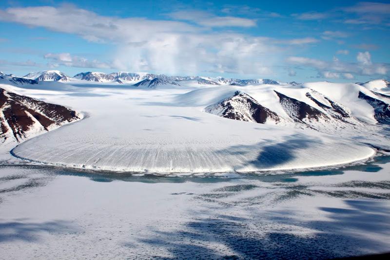 Elephant Foot Glacier