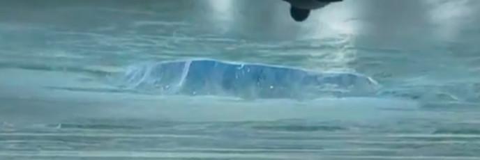Ледяная планета в рекламе пива