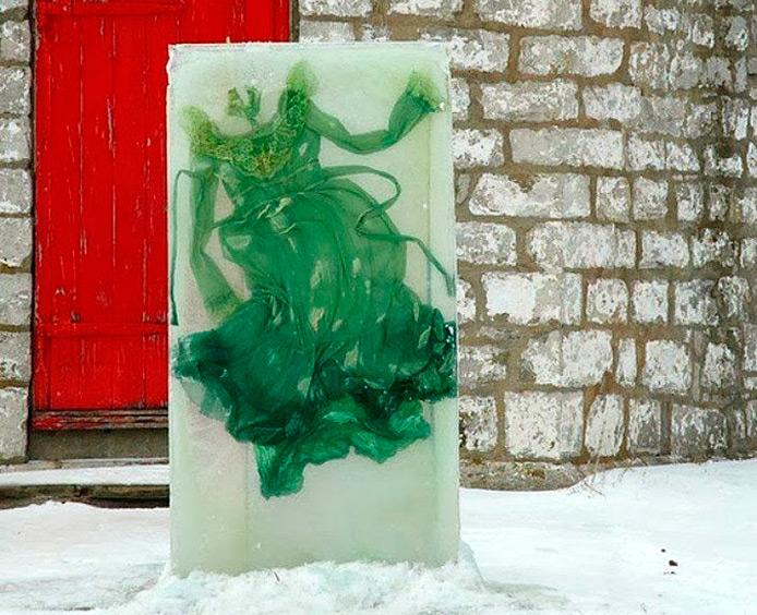 Эфемерная красота во льду