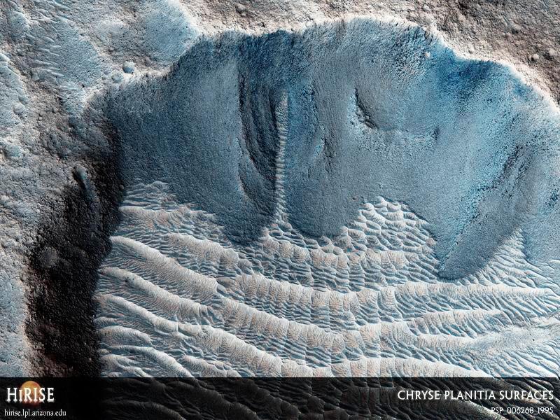Илл.15 - Ледник на дне кратера Виктория