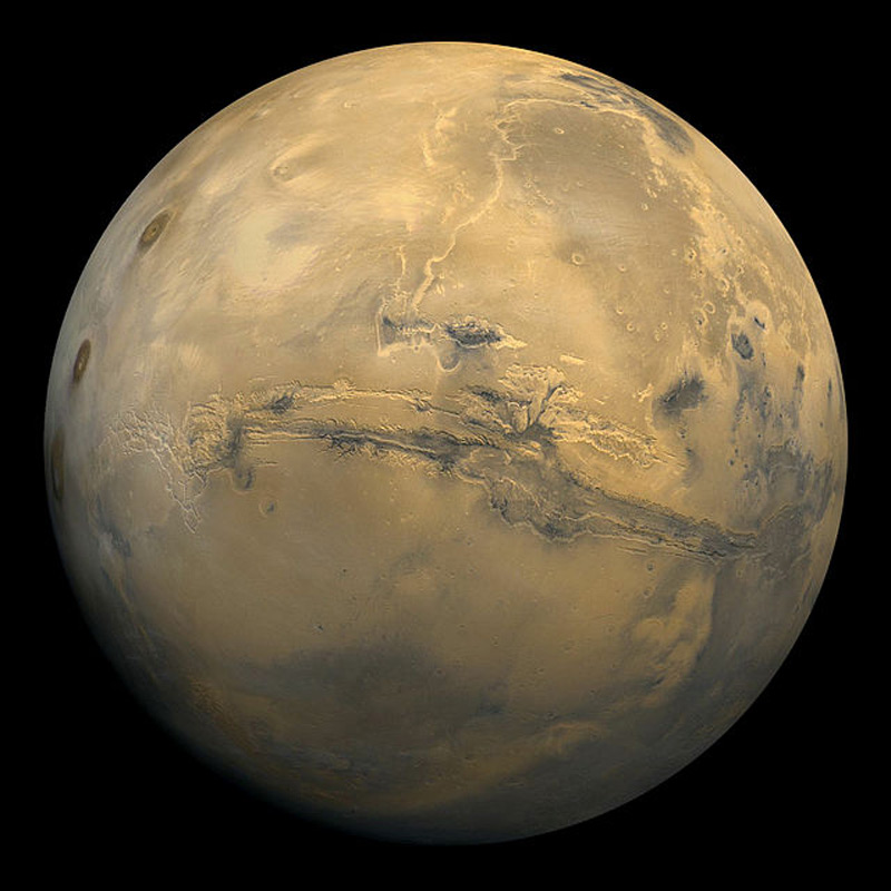 Илл.1 - Планета Марс