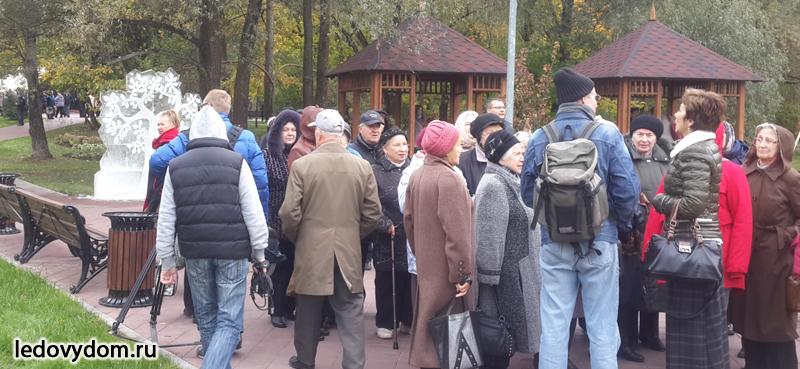 Праздник для пожилых граждан в Серебряном бору