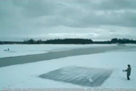 Морской бой на льду