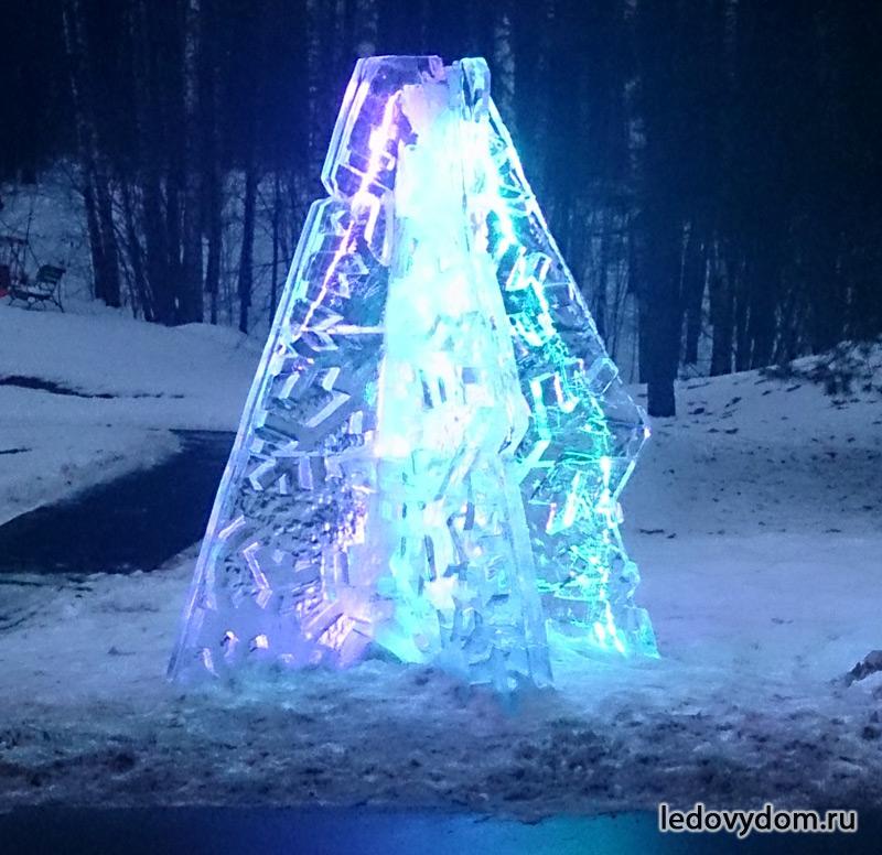 Ледяная елка