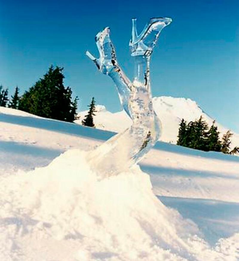 Ледяные ножки