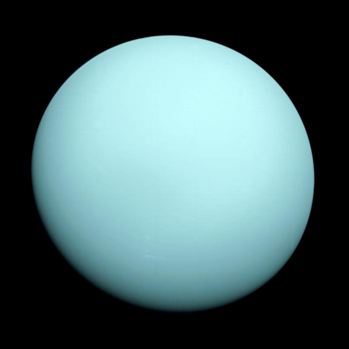Иллюстрация - 1. Планета Уран