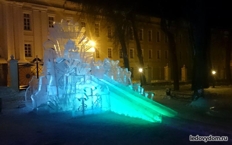 Ледяной замок Снежной Королевы