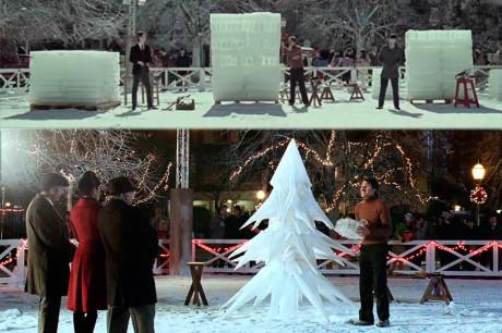 Конкурс ледяных скульптур в рекламе Stella Artois
