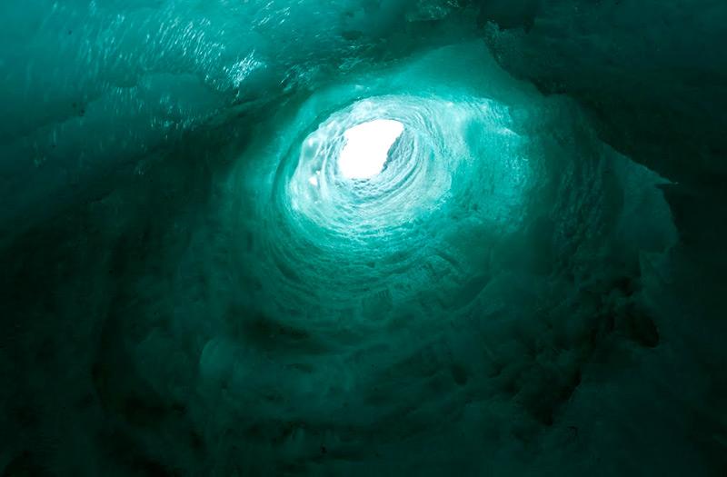 Внутри ледяной башни
