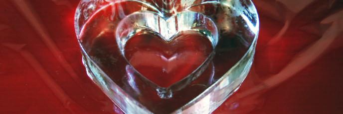 Ледяное сердце в подарок