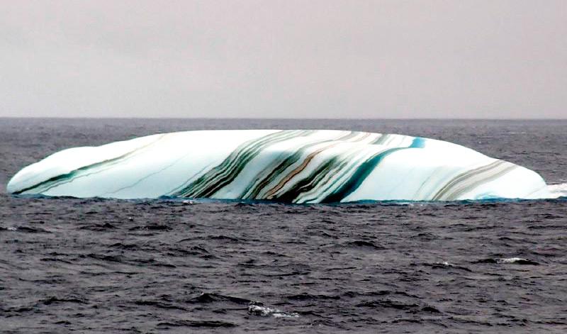 Полосатый лед