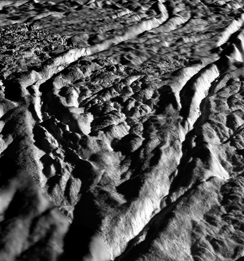 Илл.6. Фрагмент поверхности Энцелада