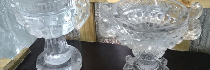 Ледяные вазы