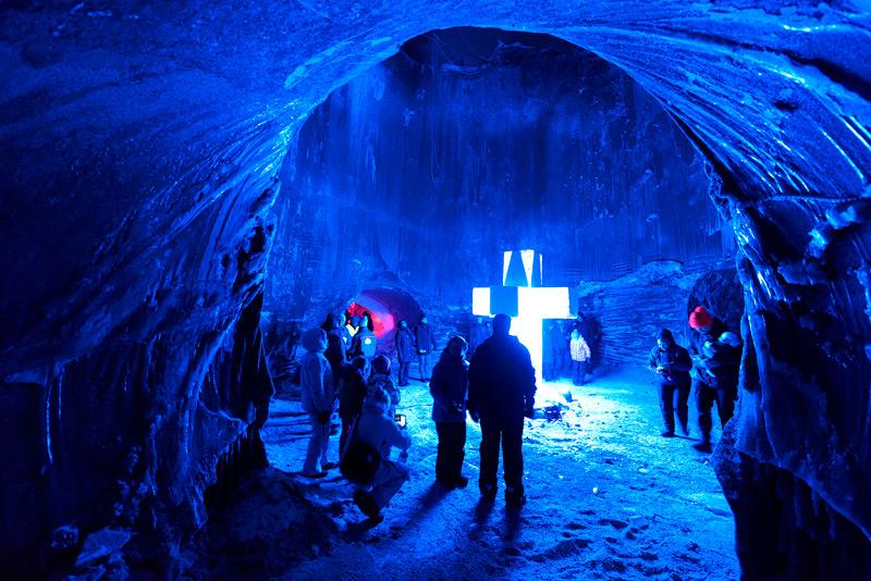 Интерьеры ледяного храма