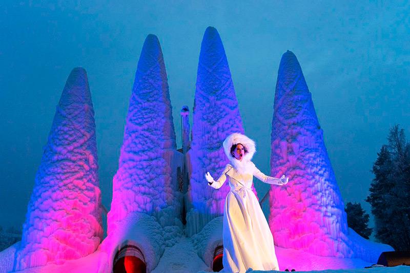Концерты у ледяного храма