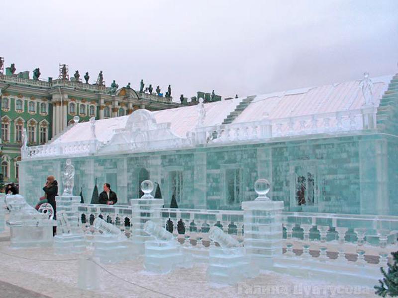 Реконструкция Ледяного дома, Санкт-Петербург, 2006 г.
