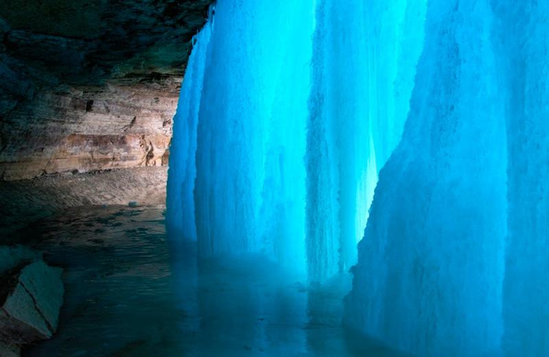 Водопад Миннехаха, США