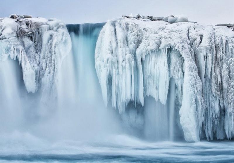 Водопад Бога (Годафосс), Исландия