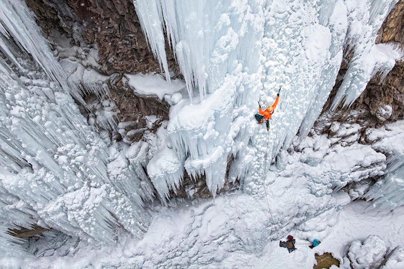 Водопад Оурей, США