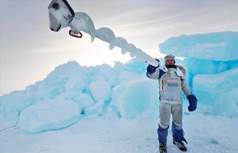 Палка для селфи на Северном полюсе