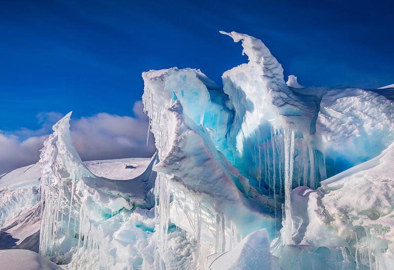 Ледяная абстракция