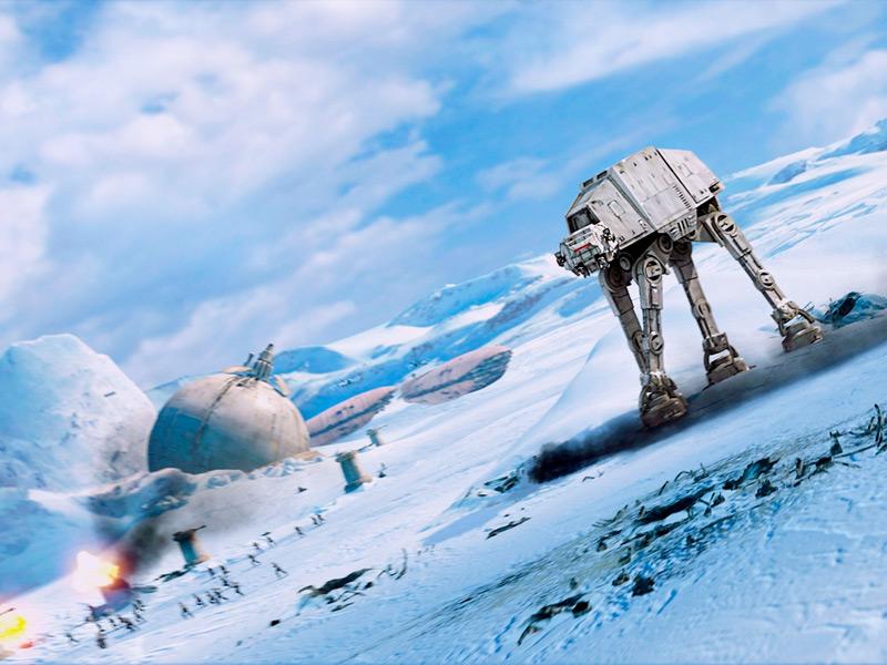 Илл.7. Кадр из художественного фильма «Звездные войны. Эпизод V: Империя наносит ответный удар»