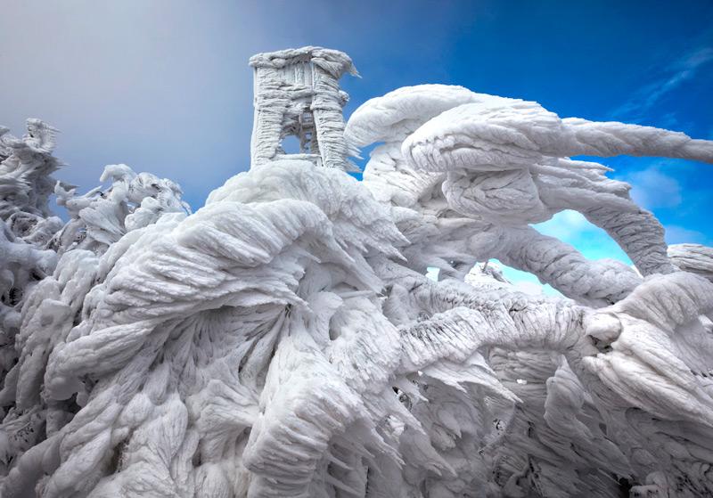 Ледяная скульптурная композиция