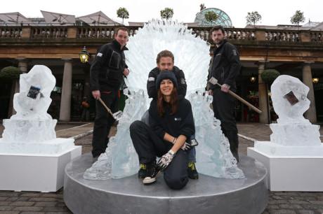 Ледяной трон из сериала Игра Престолов