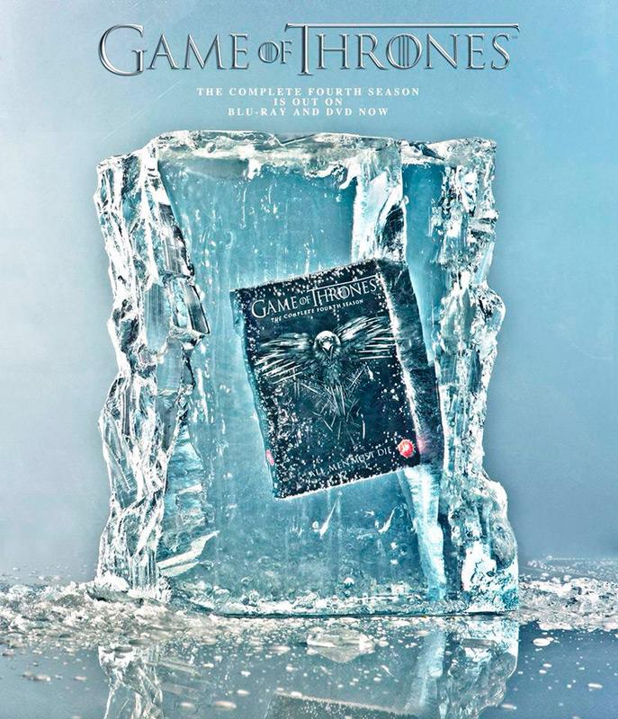 DVD Игра Престолов, 4 сезон во льду