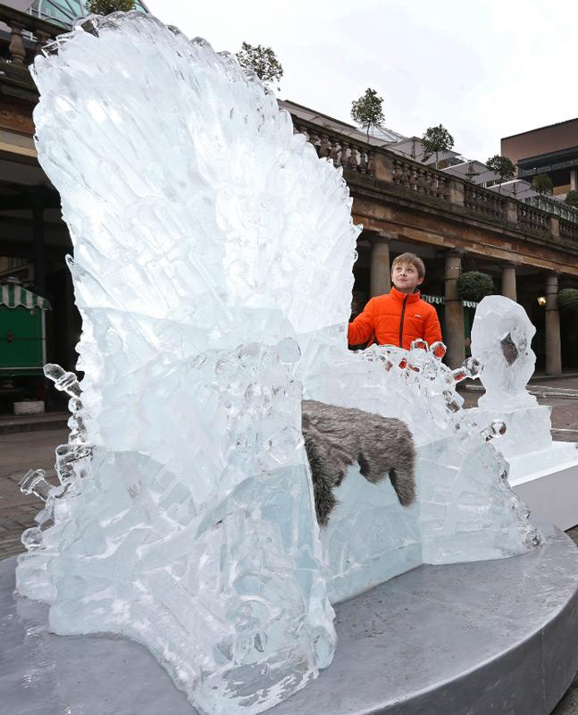 Железный трон изо льда