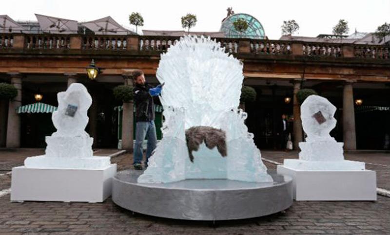Ледяной трон для сериала Игра Престолов