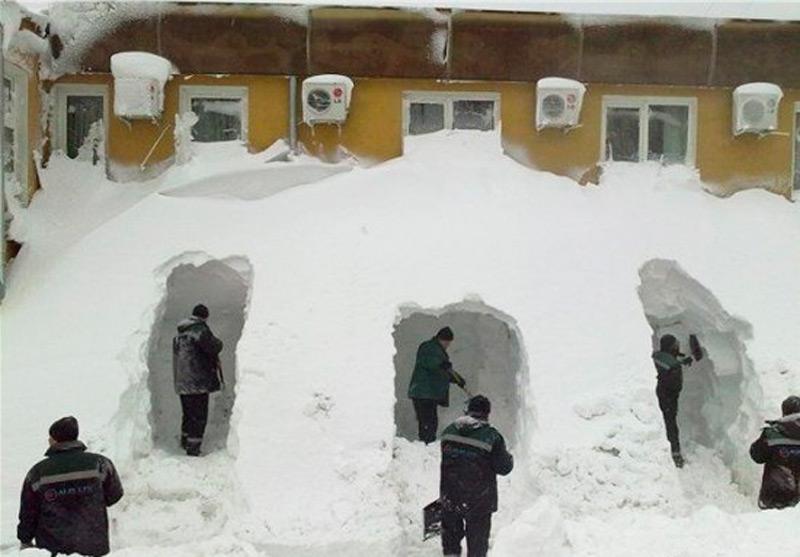 Зимняя олимпиада уборщиков